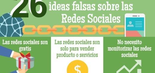 Desmontando 26 mitos sobre las Redes Sociales (infografía)