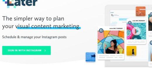 Later: app móvil para programar publicaciones en Instagram