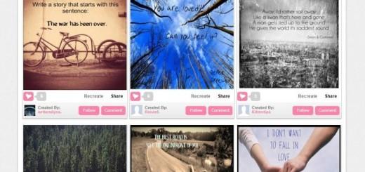 LiveLuvCreate: crea bellas imágenes con textos o citas