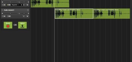 Melosity: editor de audio online totalmente gratuito