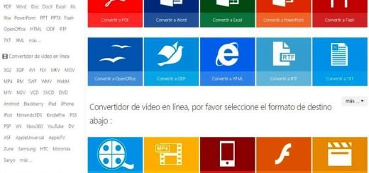 Office Converter: utilidad web para convertir más de 500 formatos de archivos