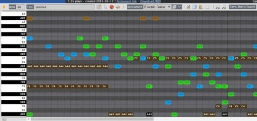 Online Sequencer: utilidad gratuita para crear música online