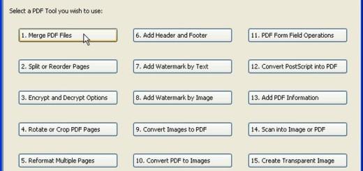 PDFill PDF Tools: software gratuito para editar documentos PDF