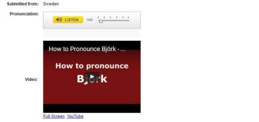 Pronounce Names: aprende a pronunciar cualquier nombre difícil