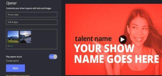 Showbox: editor de vídeo online y gratuito
