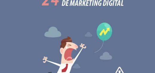 24 graves errores en Marketing Digital