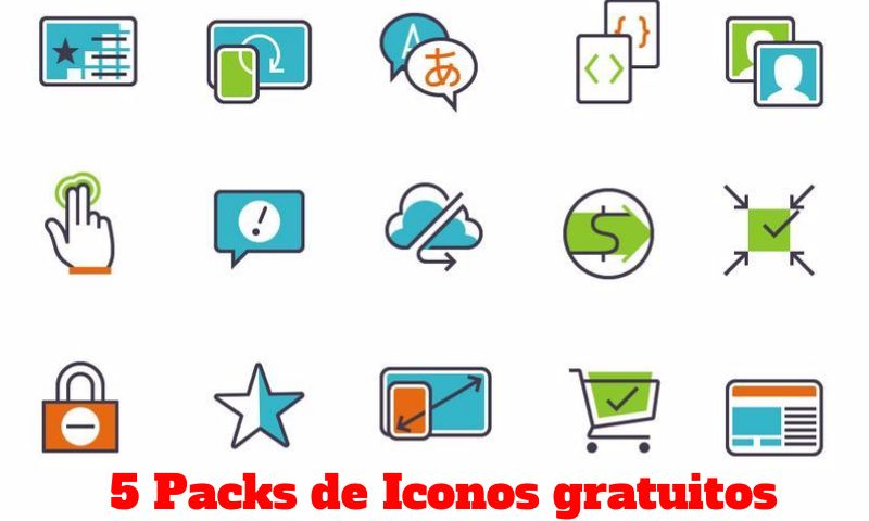 5 packs de Iconos gratuitos para descargar