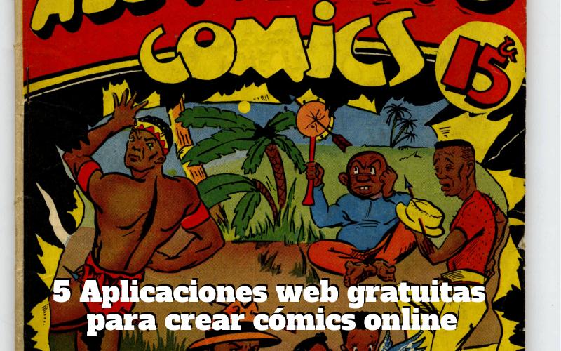 5 aplicaciones web gratuitas para crear cómics online