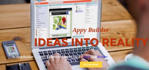 Appy Builder: nueva plataforma web para crear gratis apps Android sin programar