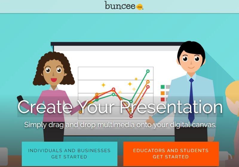 Crear presentaciones online y gratis con Buncee