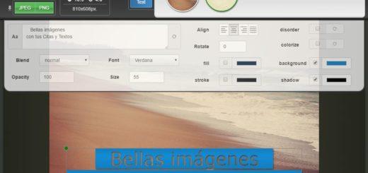 Coverlay App: genial aplicación web para crear Imágenes con Citas