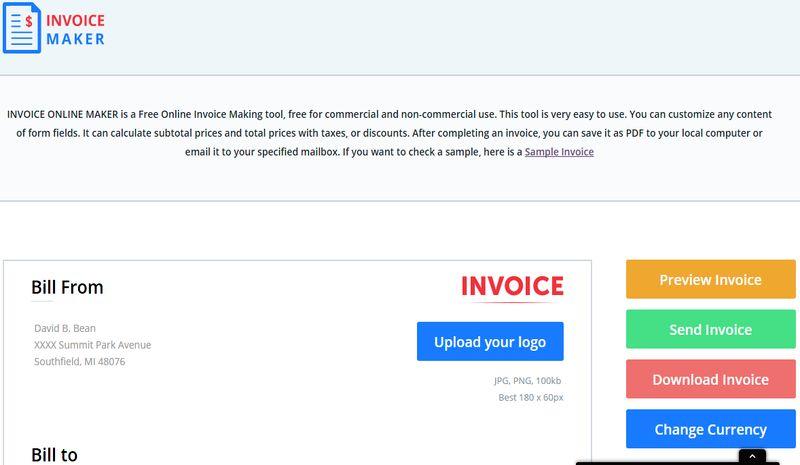 invoice maker crea facturas online con esta utilidad web gratuita
