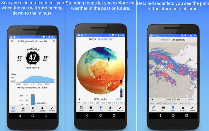 dark sky la mejor app m vil para conocer el estado y