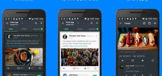 Finch: uno de los mejores clientes para Twitter en Android