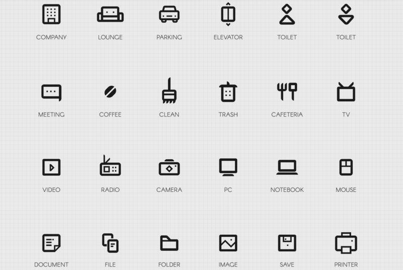 Packs de iconos gratuitos - Company Icon Set