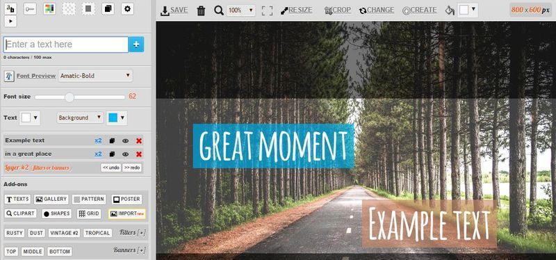 10 mejores aplicaciones web para crear imágenes con citas o textos