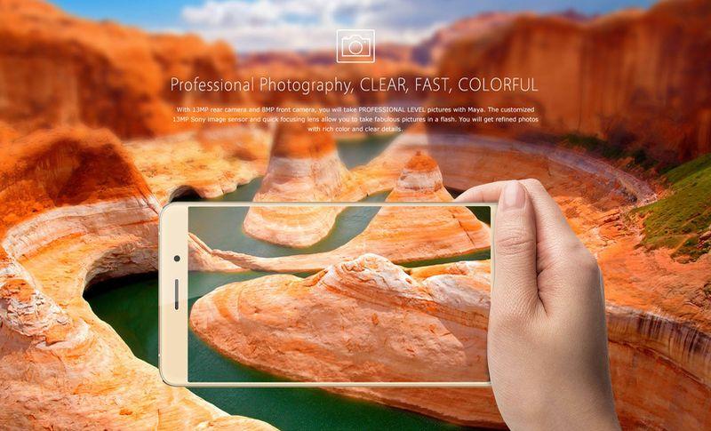 Bluboo Maya: nuevo smartphone ganga especial para fotografía