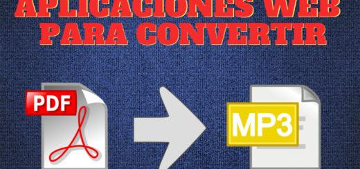 Convierte tus PDF a Mp3 con estas 2 herramientas web gratuitas