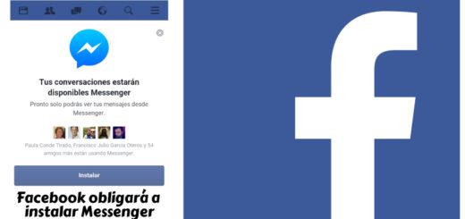 Facebook obliga a instalar Messenger a los usuarios de la versión web móvil