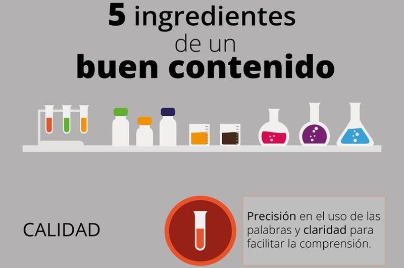 Buenos Contenidos, descubre los 5 ingredientes esenciales