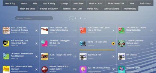 Tuner: web con cientos de radios musicales para escuchar online