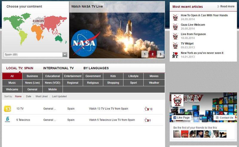 Tv gratis: 5 mejores páginas para ver televisiones online