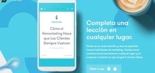App para aprender Marketing de Google, instala ya Primer