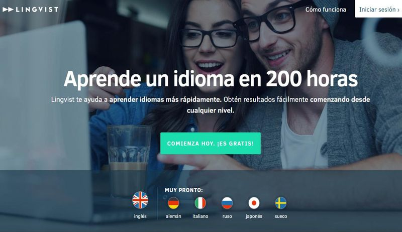 Lingvist: plataforma formativa gratis para aprender inglés en 200 horas