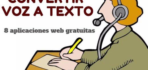 Convertir voz en texto, las 8 mejores aplicaciones web