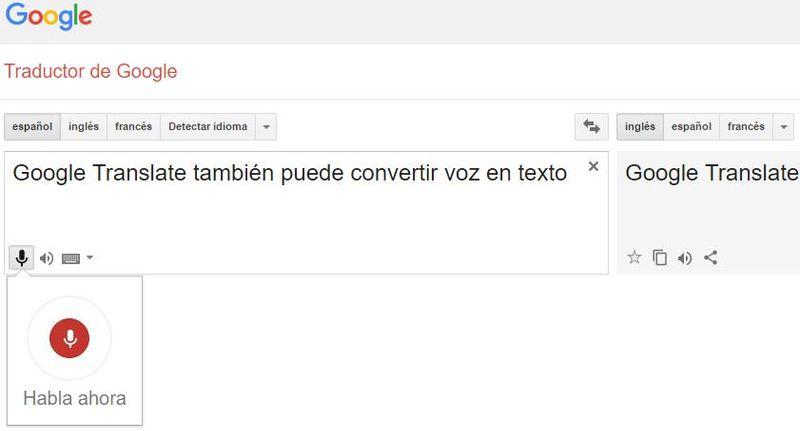 Convertir voz en texto Google Translate Convertir voz en texto, las 8 mejores aplicaciones web