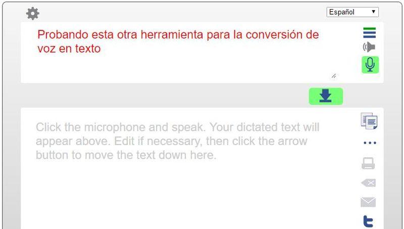 Convertir voz en texto TalkTyper Convertir voz en texto, las 8 mejores aplicaciones web