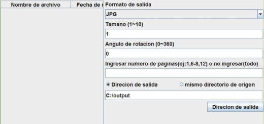 Convierte documentos PDF a Imágenes con TTR PDF