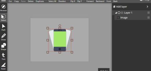 Crear gráficos vectoriales online y gratis con Inker