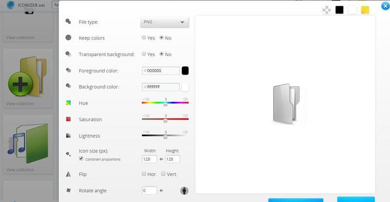 Crear Iconos online, sin ser diseñador, con estas 5 aplicaciones web