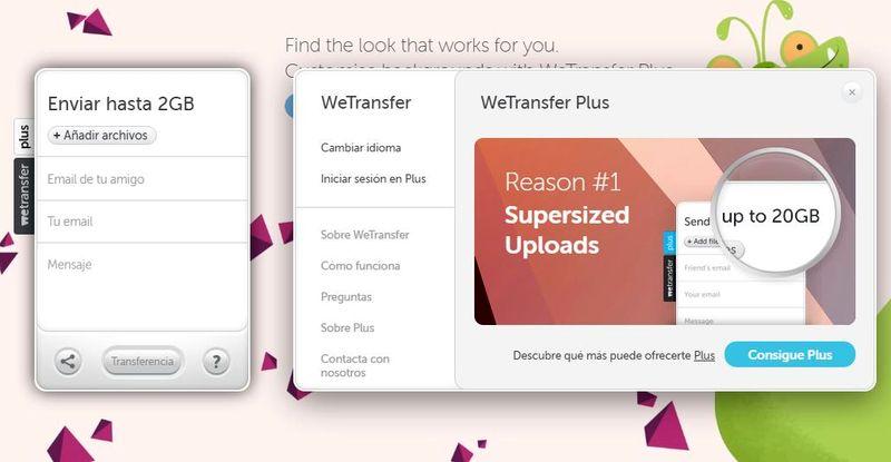 Enviar archivos grandes: 7 mejores aplicaciones web gratuitas