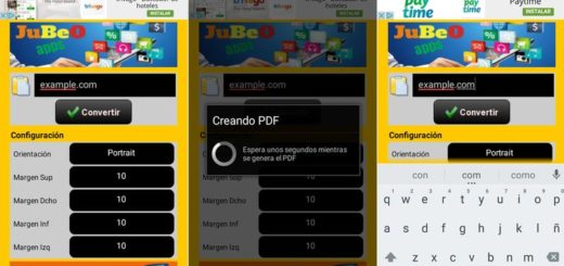 JuBeO Web2PDF: app Android para convertir Webs a PDF