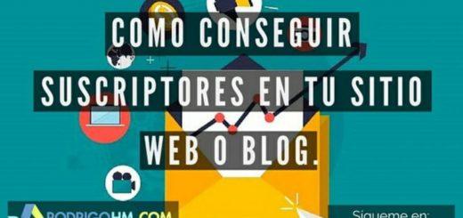 Claves para ganar suscriptores en tu Blog