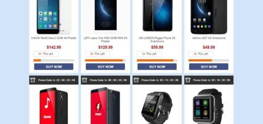 Promoción en Nuevos Smartphones y otros dispositivos