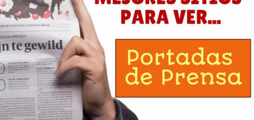 Paginas con Portadas de Periodicos