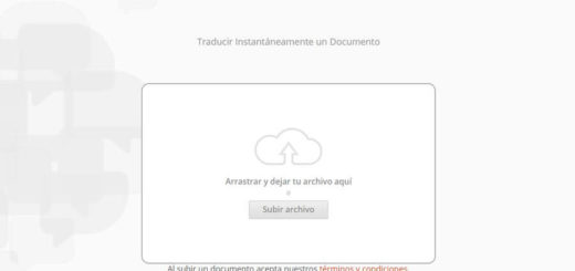 Traducir PDF online con DocTranslator