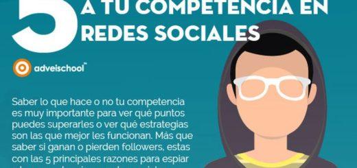 5 motivos para espiar a la competencia en Redes Sociales