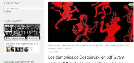 Alejandria Digital: gran colección de eBooks de dominio público