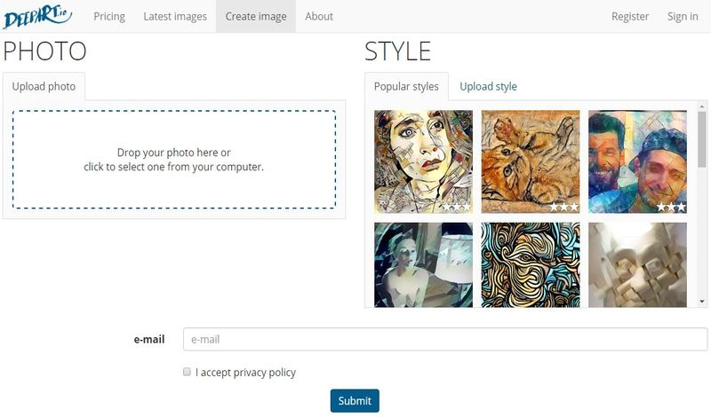 Convertir Fotos en Arte DeepArt Convierte tus Fotos en Arte con estas dos aplicaciones web