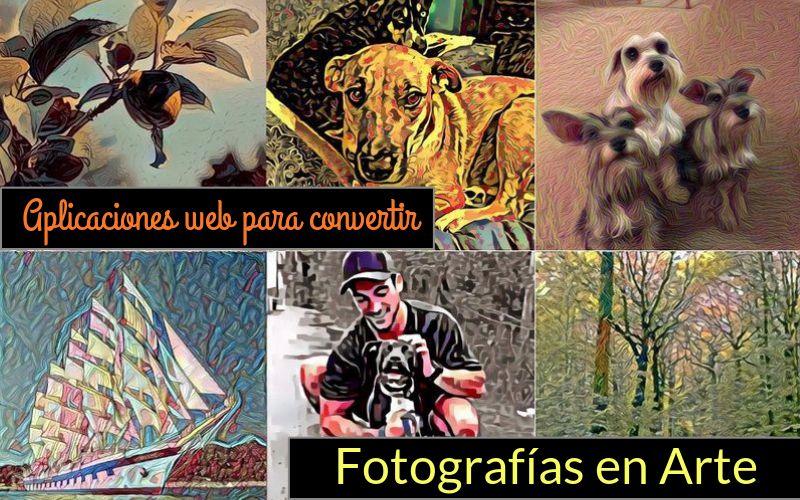 Convertir Fotos en Arte Convierte tus Fotos en Arte con estas dos aplicaciones web