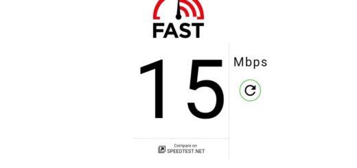 Fast Speed Test: medidor de velocidad de conexión de Netflix para móvil