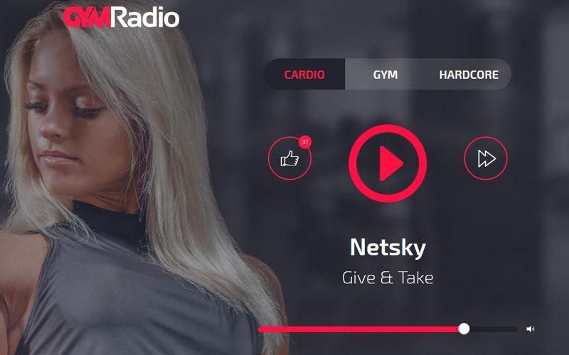 GYM Radio: escucha música online para hacer deporte