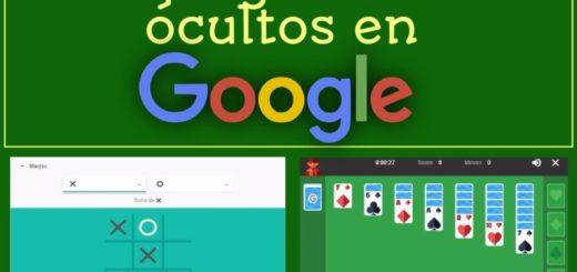 Dos juegos ocultos en Google para matar el aburrimiento
