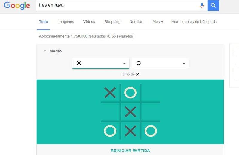 Juegos Ocultos En Google Tres En Raya Soft Apps