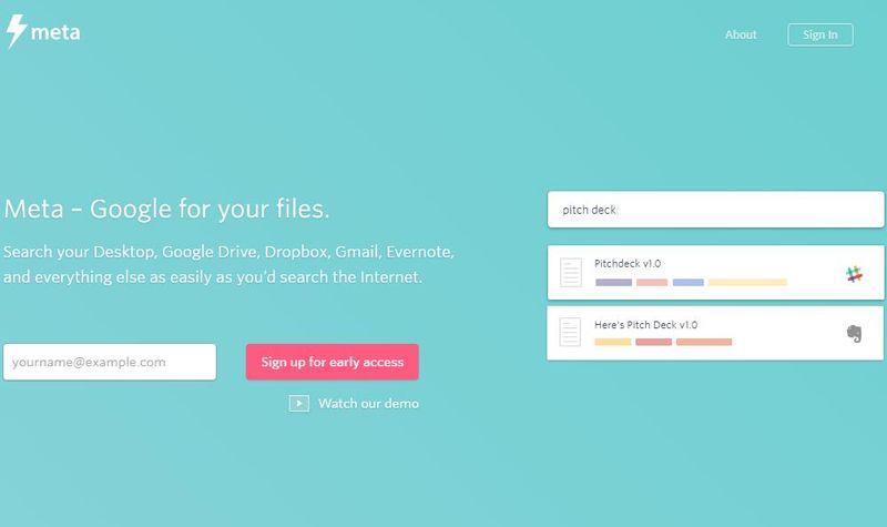 Meta Search Meta Search: busca cualquier cosa en Dropbox, Gmail, Evernote y más