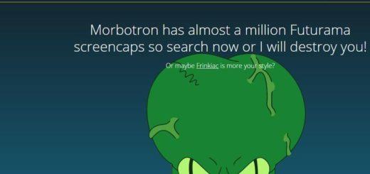 Morbotron: busca escenas de Futurama y crea GIF animados y Memes